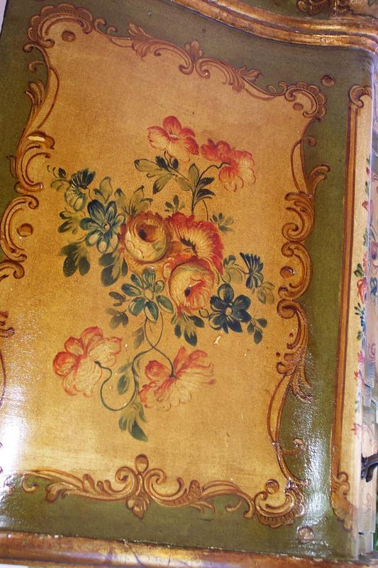 Pair of italian painted venetian commodes c 1930 39 s for for Italian painted furniture