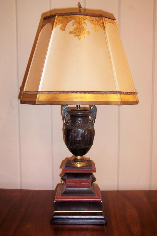 pair of antique italian black and red marble urn lamps for sale. Black Bedroom Furniture Sets. Home Design Ideas