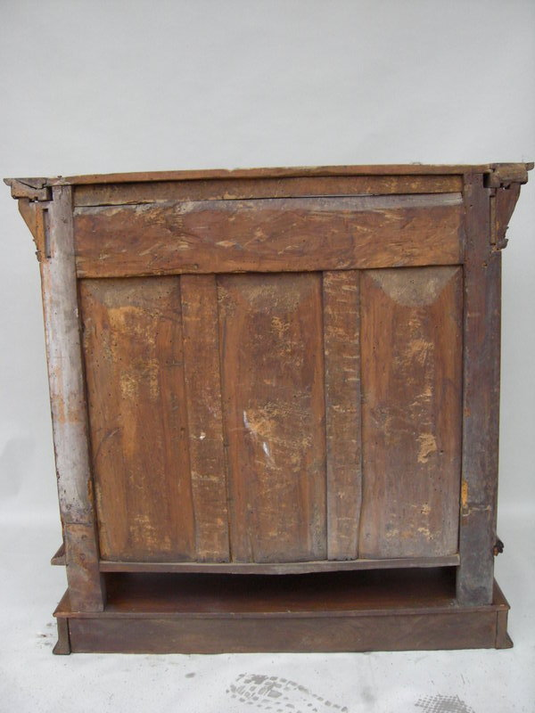 L 17th c italian baroque carved walnut cabinet for sale for Carved kitchen cabinets
