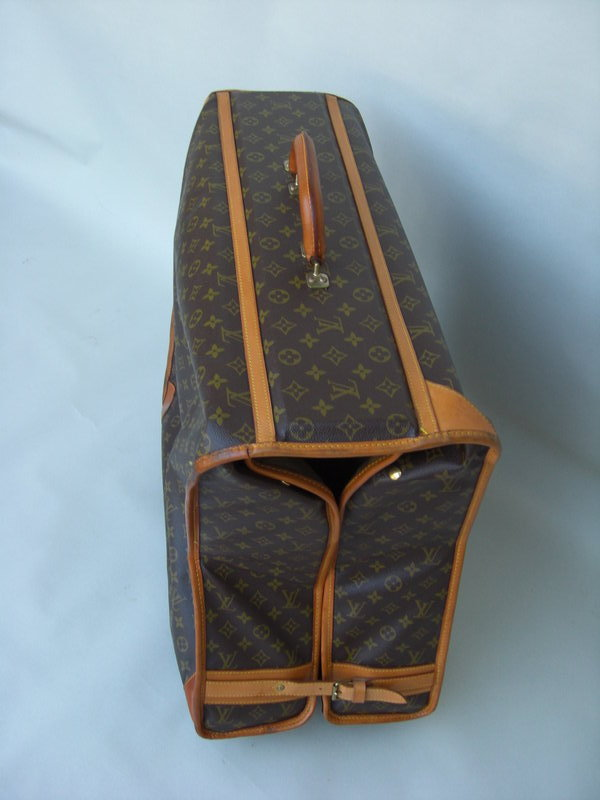 5cda158401ca Two pieces of Louis Vuitton luggage