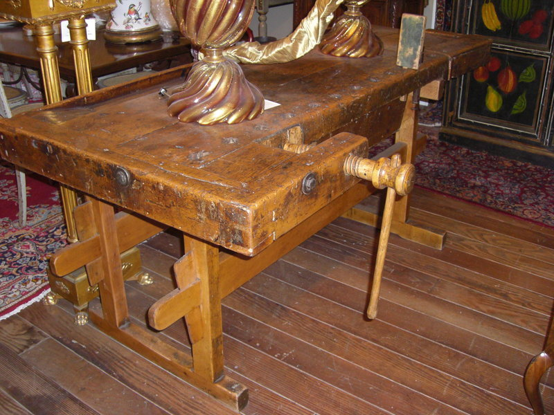 Antique Bench Carpenter Work Antiques Center