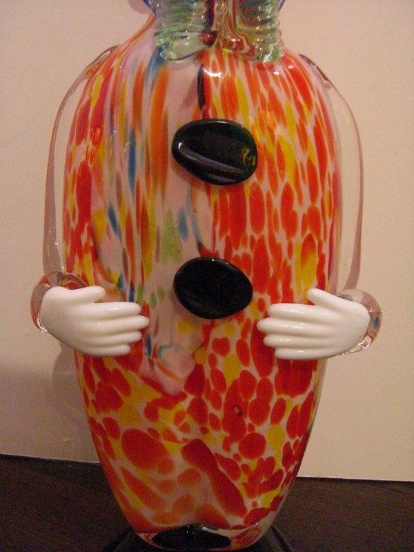 Decorative Murano Glass Clown Decanter For Sale Antiques
