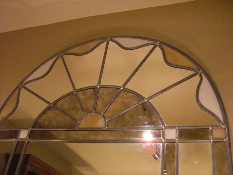 decorative dome style glass mirror for sale classifieds. Black Bedroom Furniture Sets. Home Design Ideas