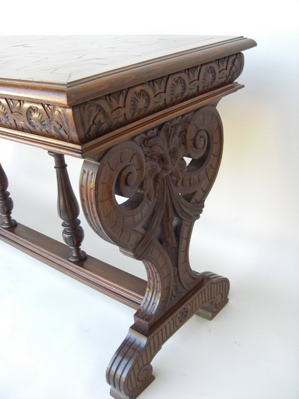 Antique Sofa Table For Sale
