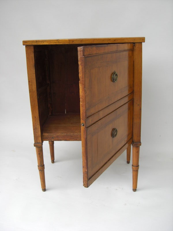 Antique fruitwood inlaid side cabinet for sale antiques - Resource furniture espana ...