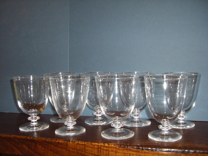 Vintage Water Glass 107