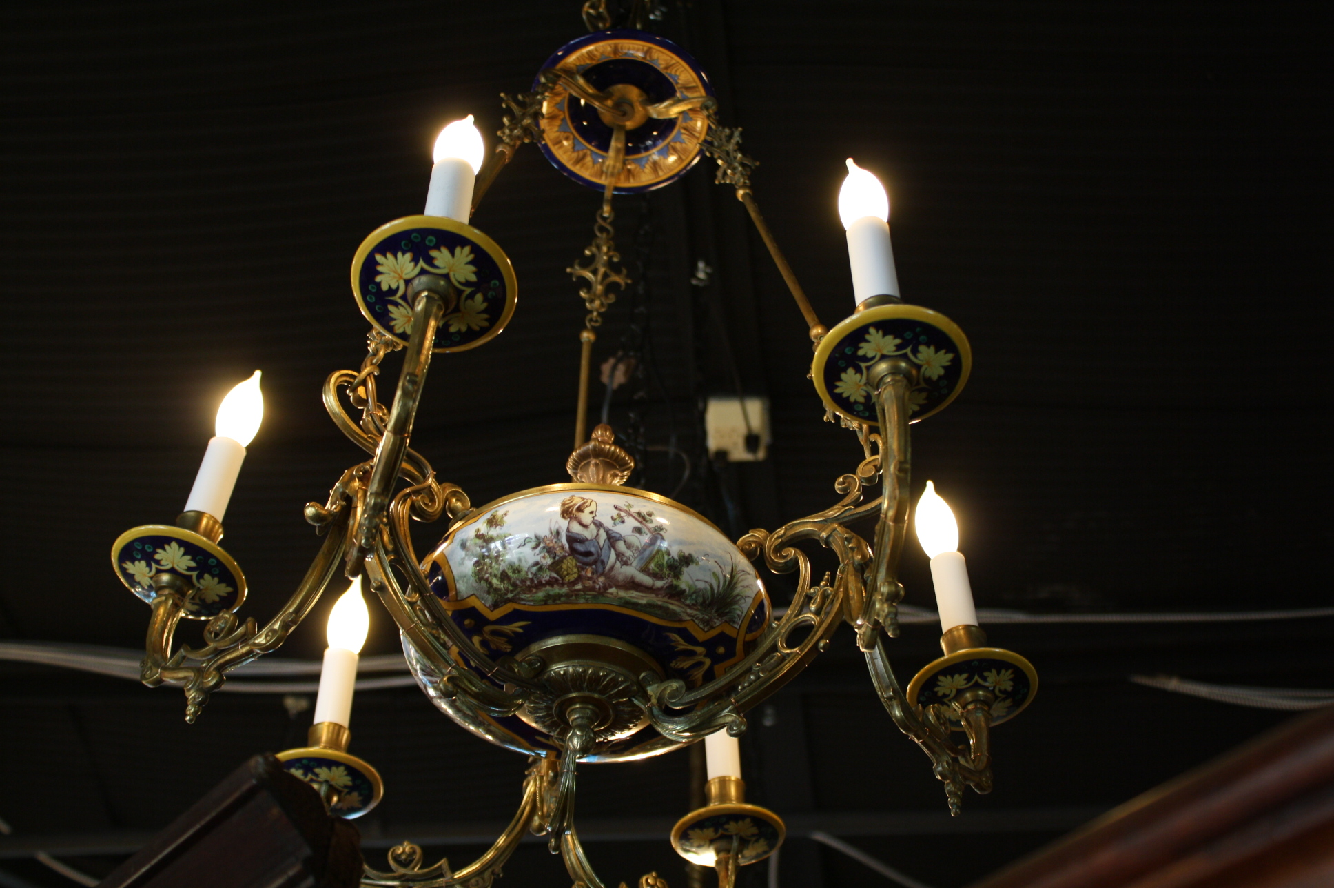 Antique italian chandelier for sale antiques classifieds antique italian chandelier for sale aloadofball Images