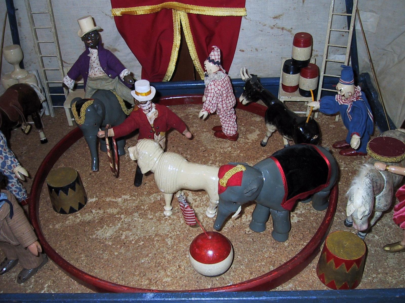 schoenhut humpty dumpty circus for sale antiques