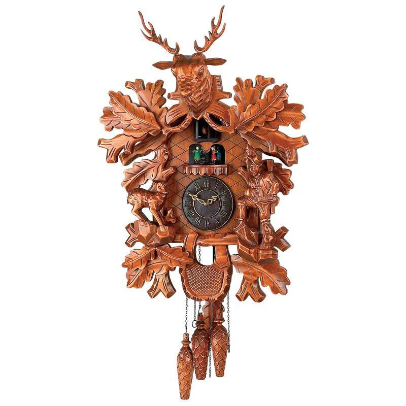Kassel Large Electronic Chime Cuckoo Clock For Sale