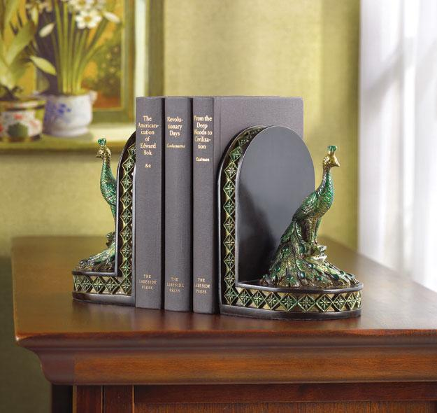 peacock bookends for sale classifieds