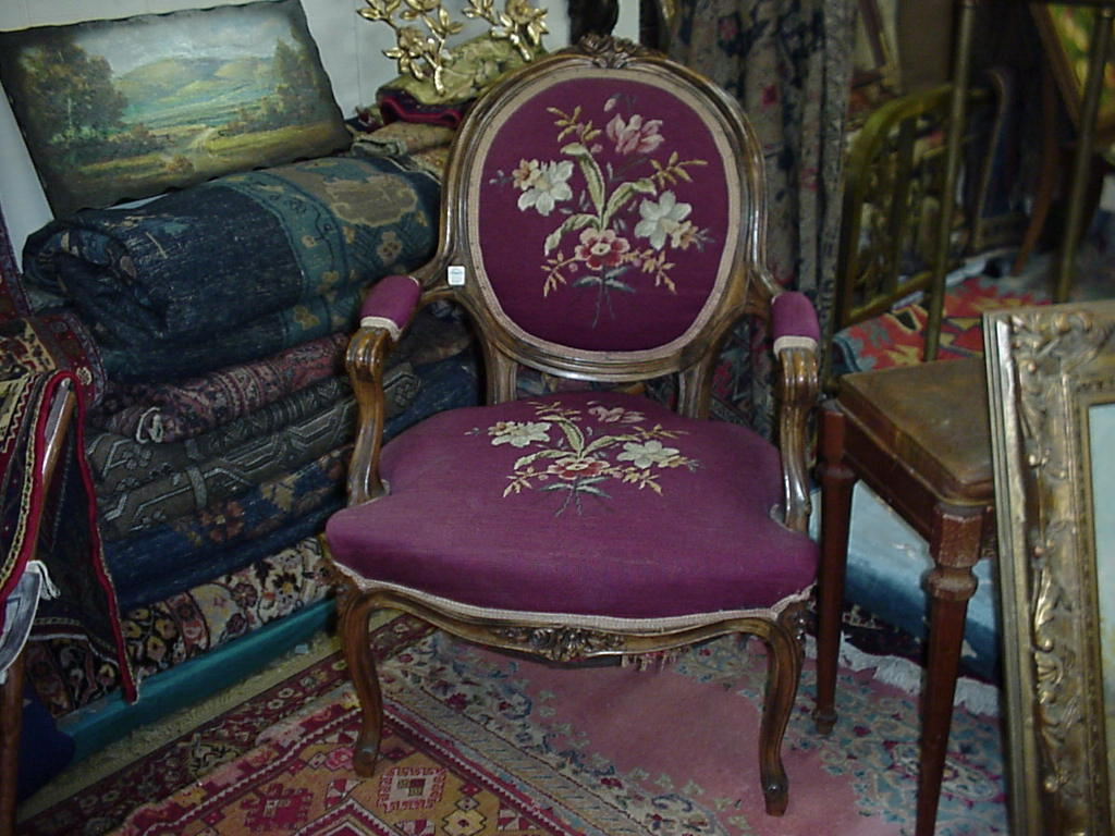 French Needlepoint - French Needlepoint Chair For Sale Antiques.com Classifieds