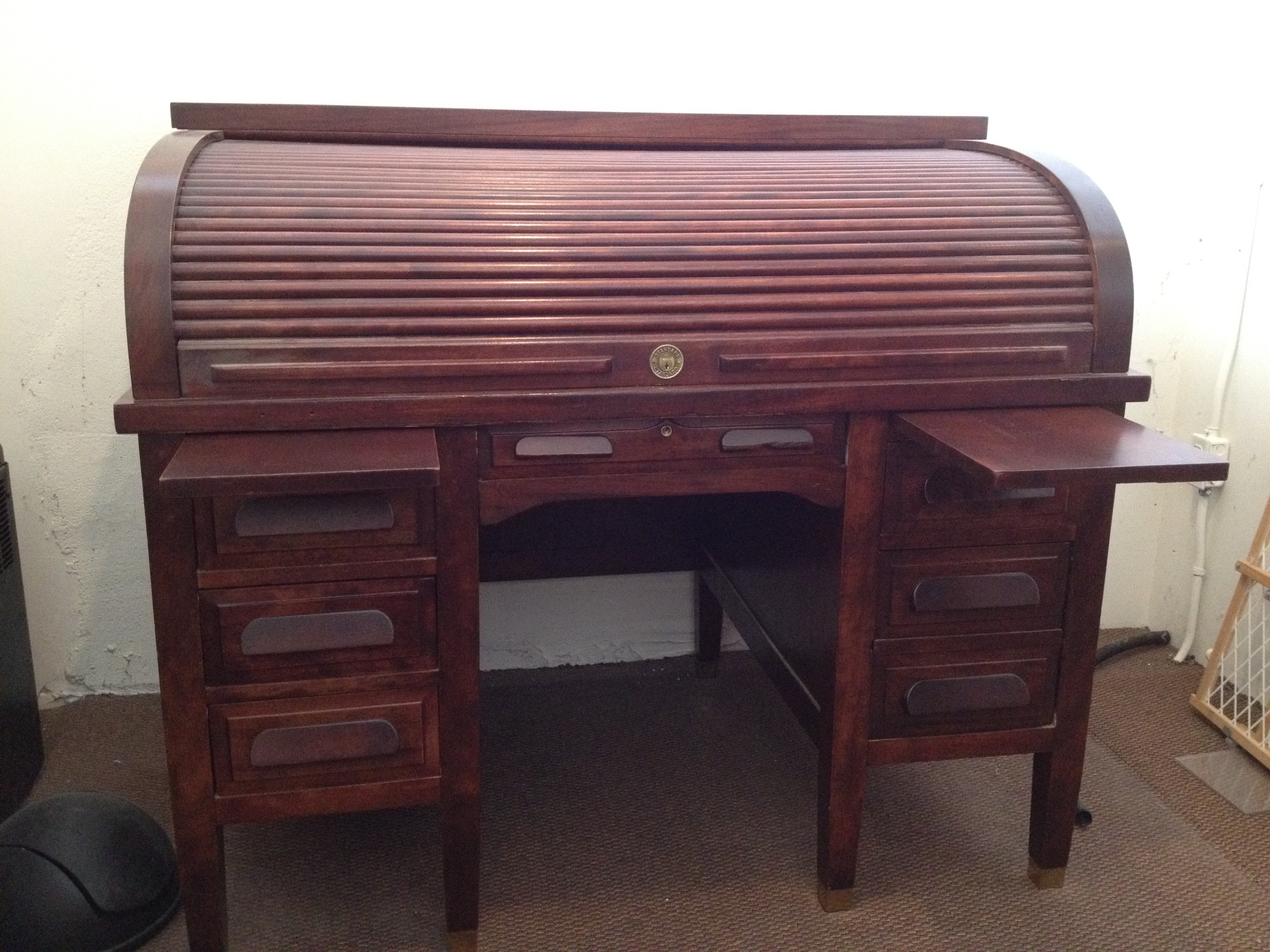 Fresh Antique Roll Top Desk Countryliving
