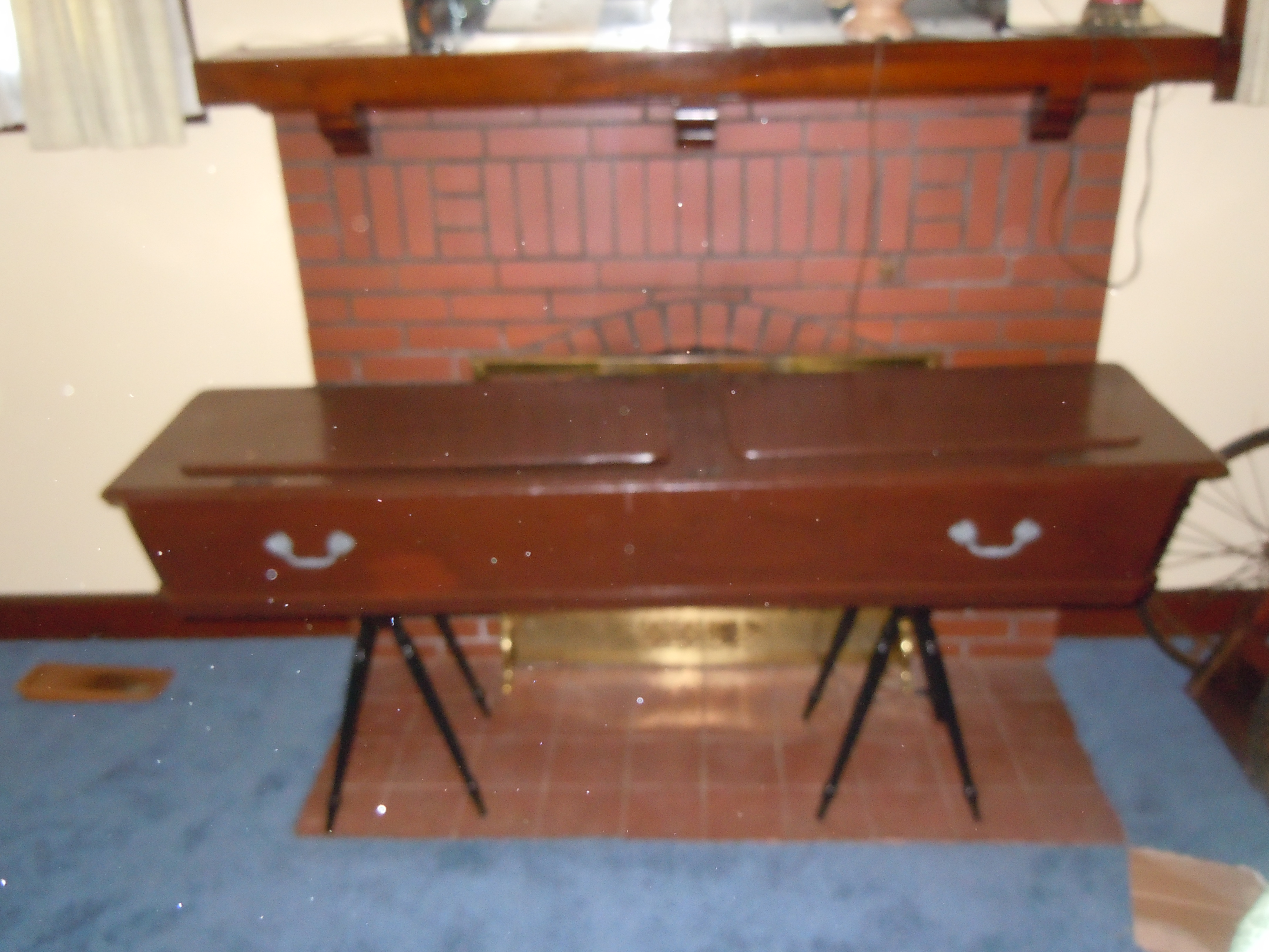 victorian coffincasket wood wstands and id bottle for sale antiquescom classifieds