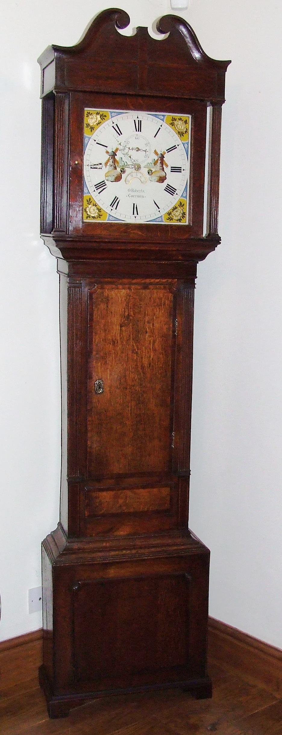 Antique Grandfather Longcase Clock : ROBERTS GAERWEN For ...
