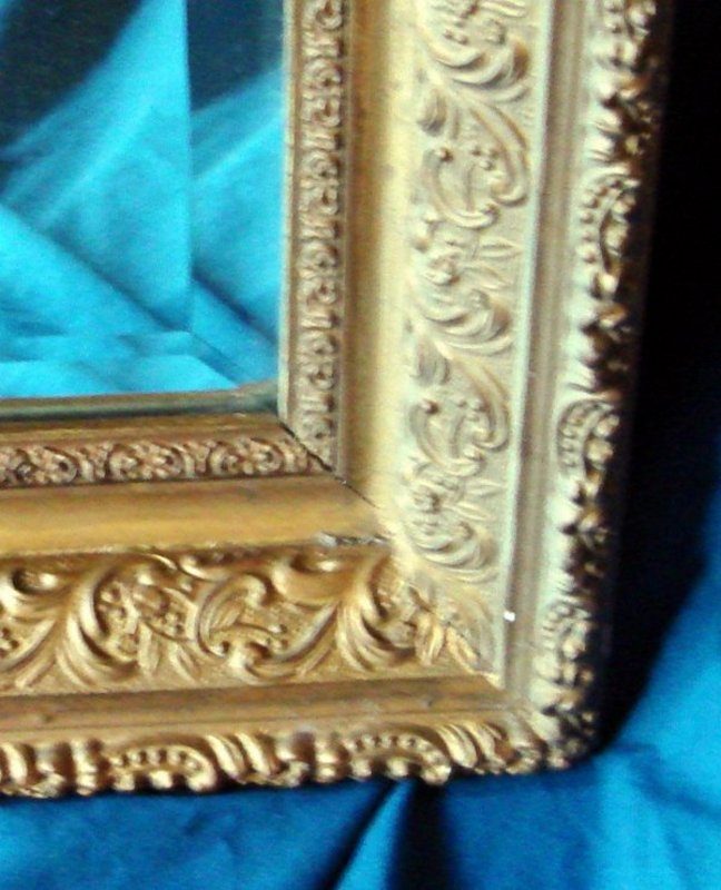 Lawrence Frames Carved Antique Silver And Gold 8x10 Picture Frame