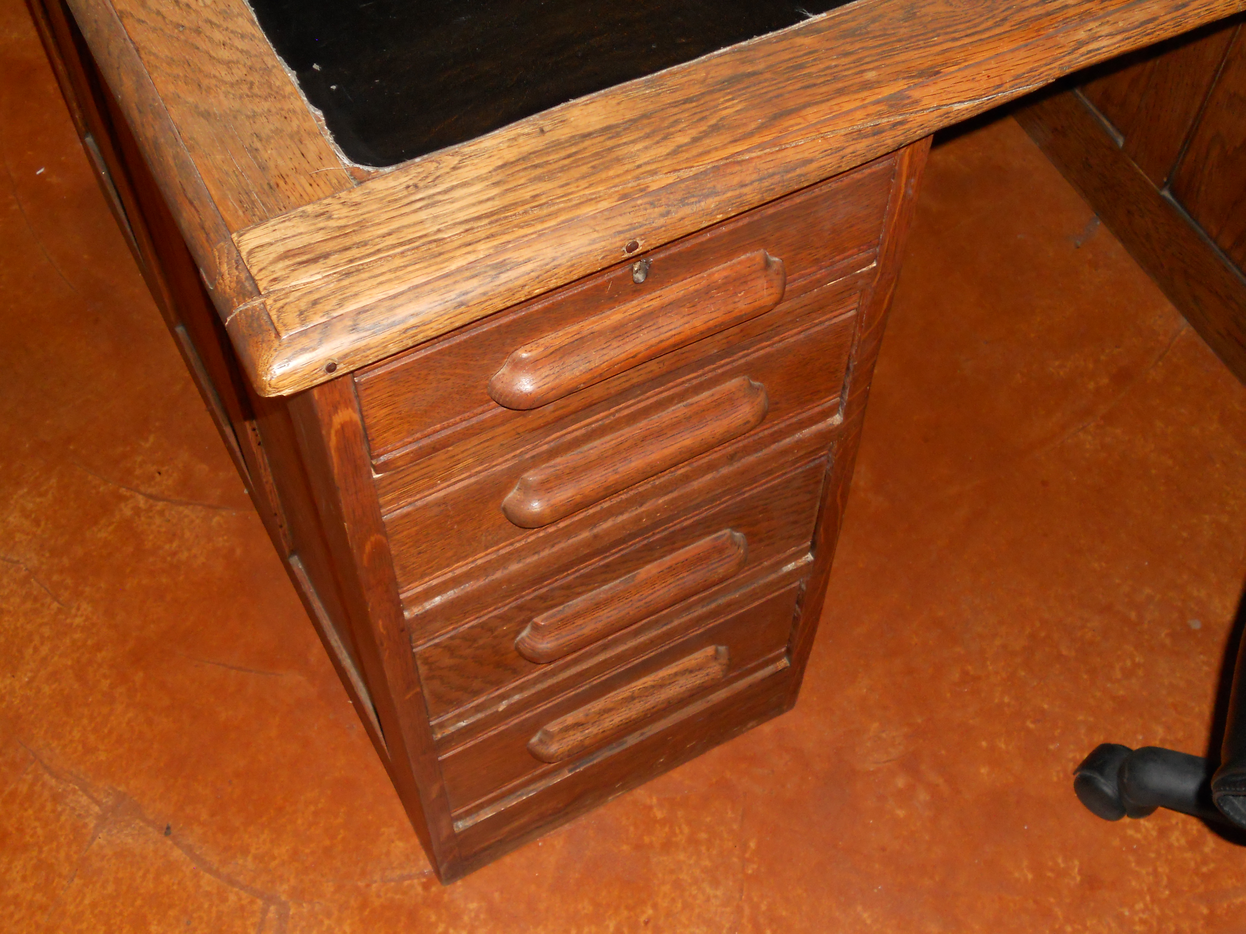 Vintage wooden office desk for sale classifieds - Antique office desk ...