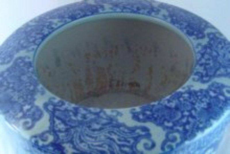 Large Japanese Porcelain Hibachi For Sale Antiques Classifieds