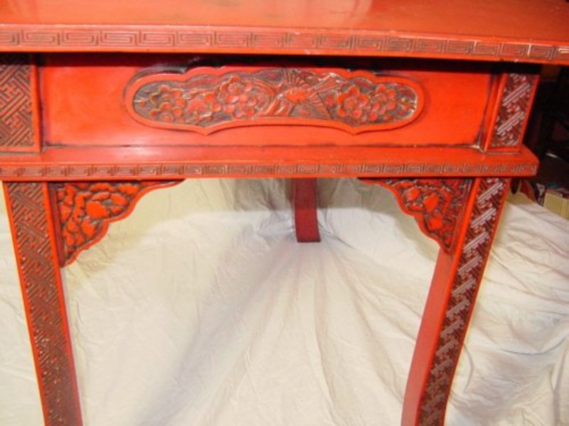 japanese cinnabar lacquer table for sale classifieds