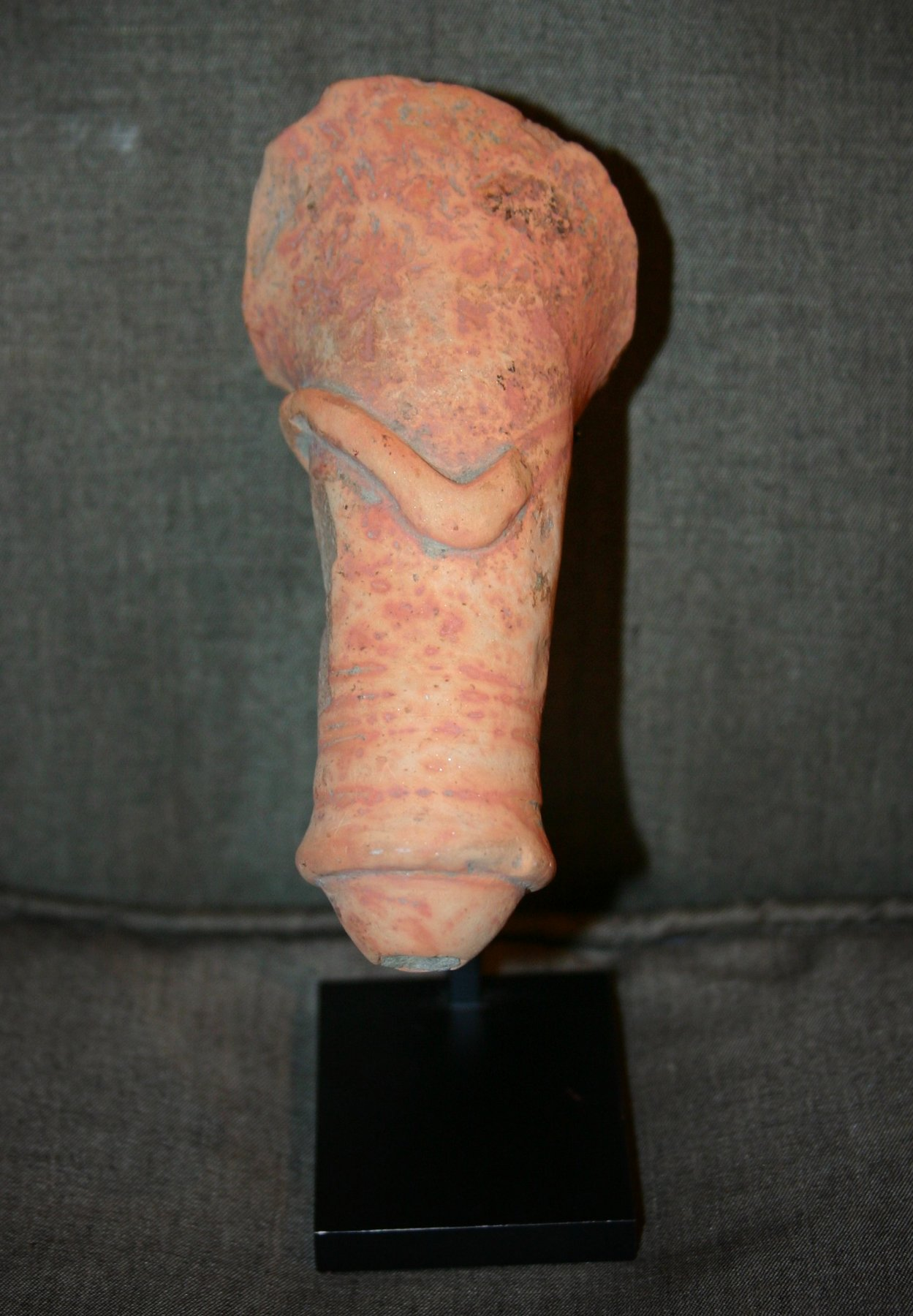 terracotta phallus of kushan kingdom for sale antiques