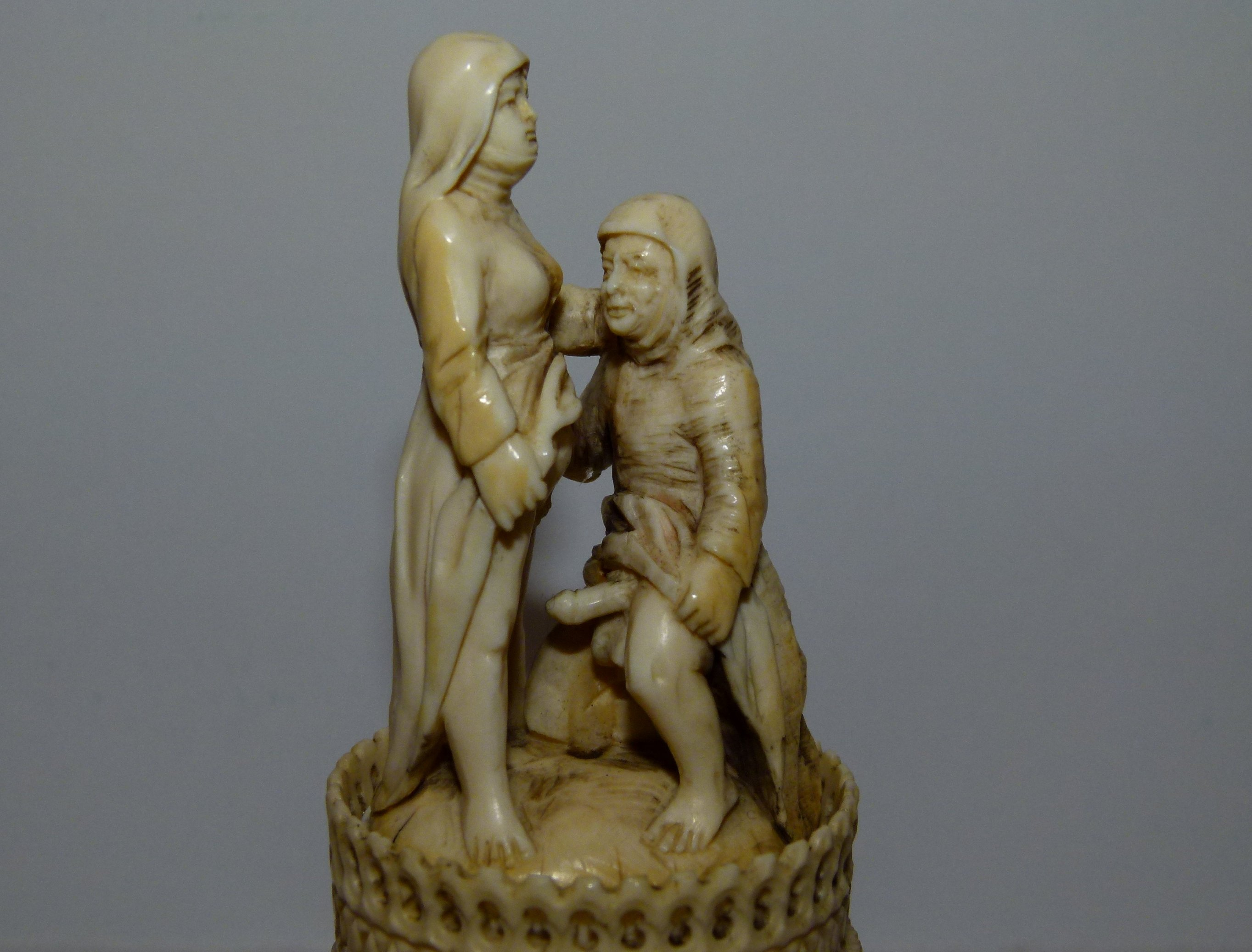 Ivory carved erotic