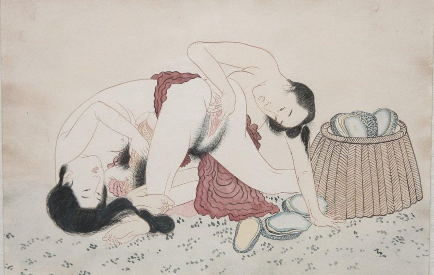 asian art Antique erotica