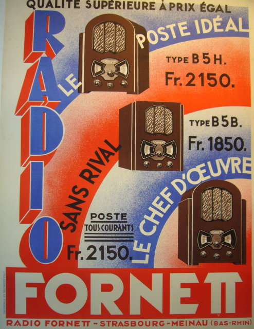 vintage art deco french poster