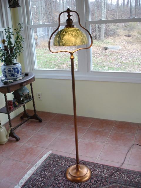 Handel Woodbine Floor Lamp For Sale Antiques Com