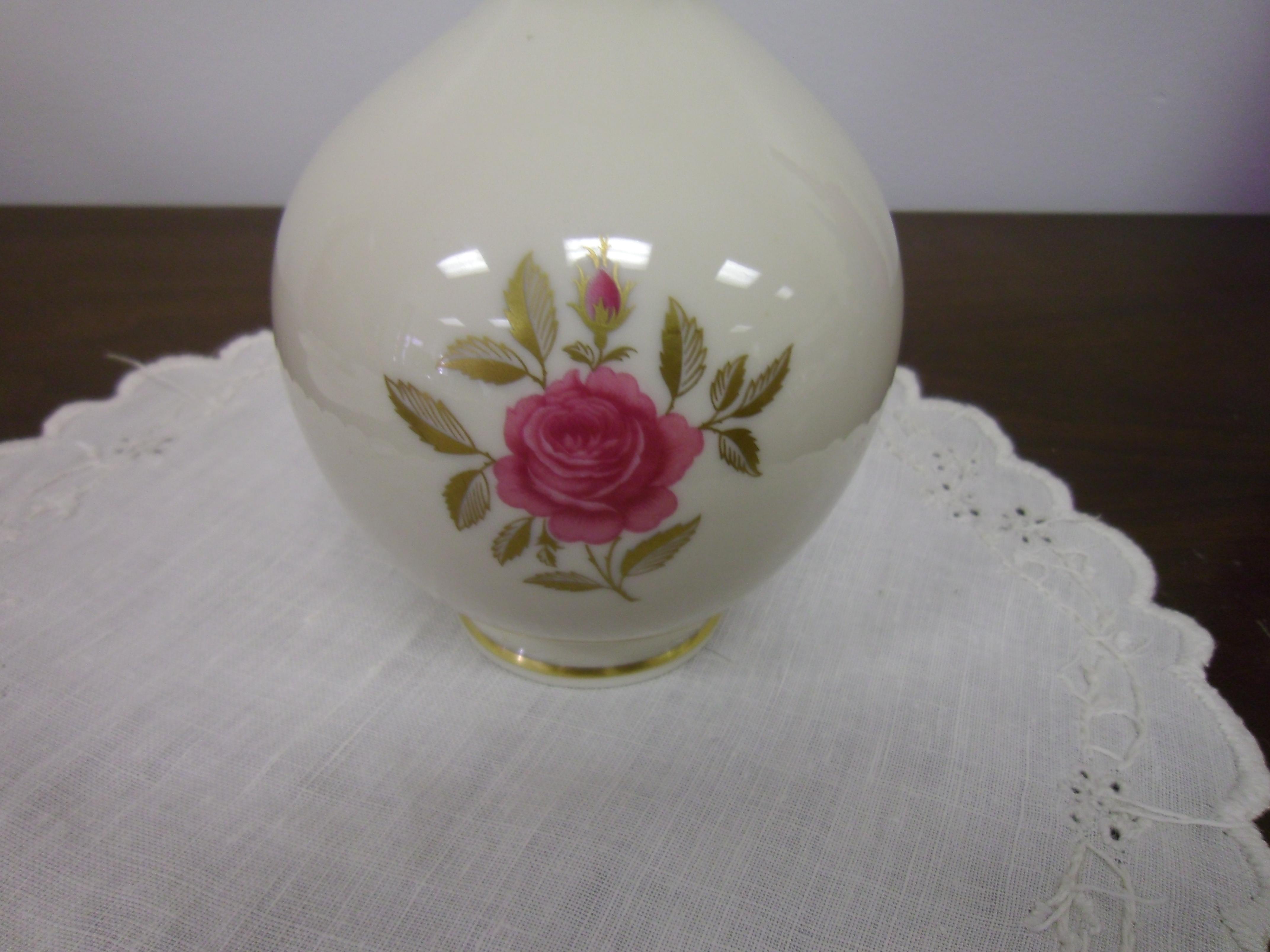 Lenox rhodora pattern 8 high bulbous vase for sale antiques lenox rhodora pattern 8 high bulbous vase for sale reviewsmspy