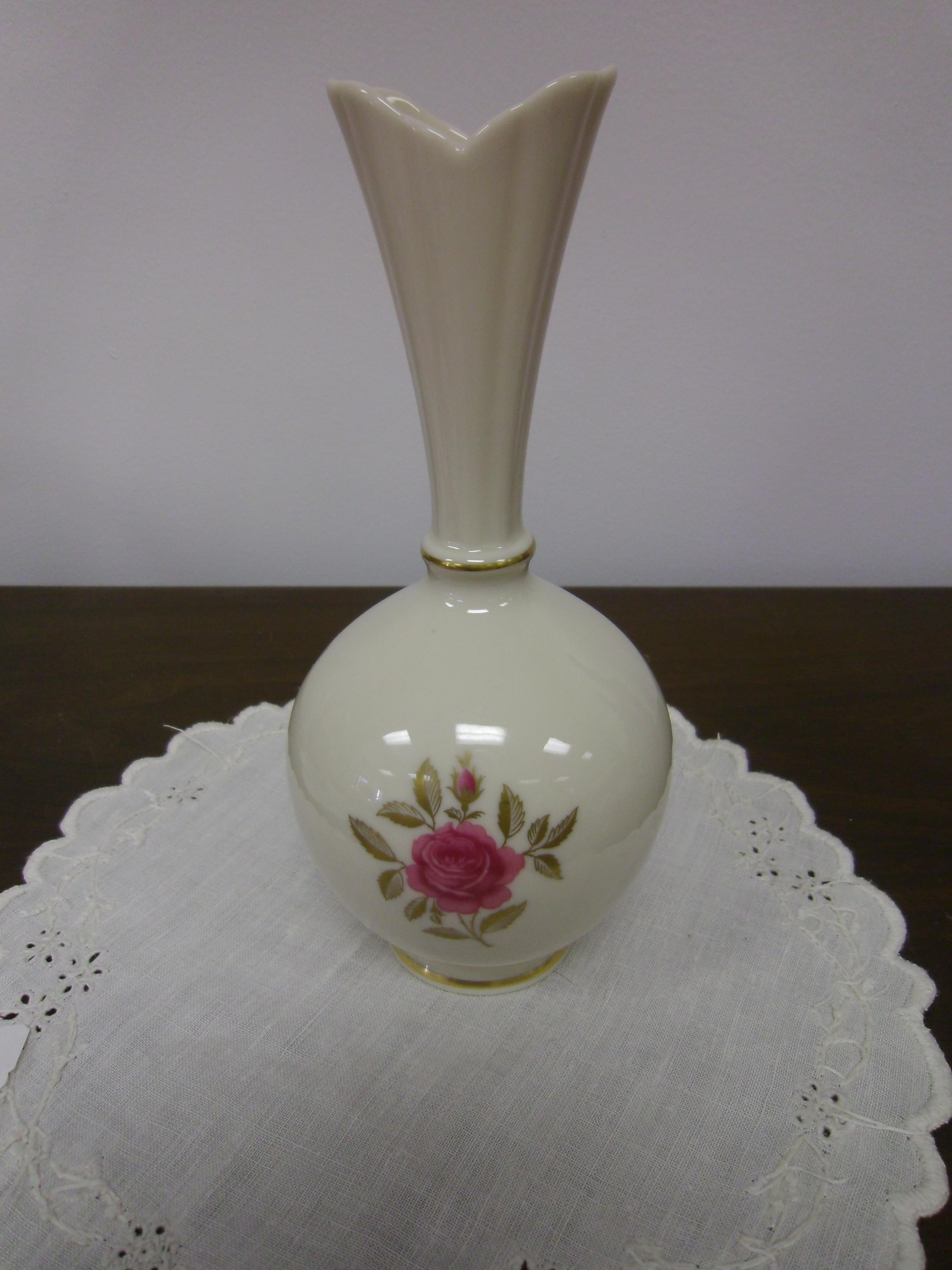 Lenox rhodora pattern 8 high bulbous vase for sale antiques lenox rhodora pattern 8 high bulbous vase for sale antiques classifieds reviewsmspy