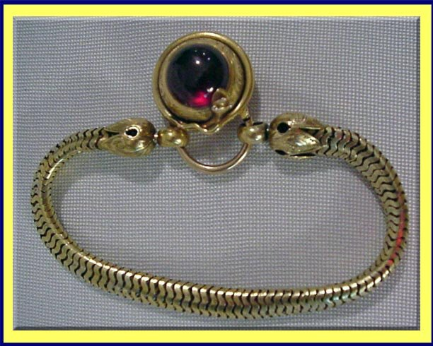 ANTIQUE VICTORIAN French 18K Rose GOLD BRACELET 1880 items in