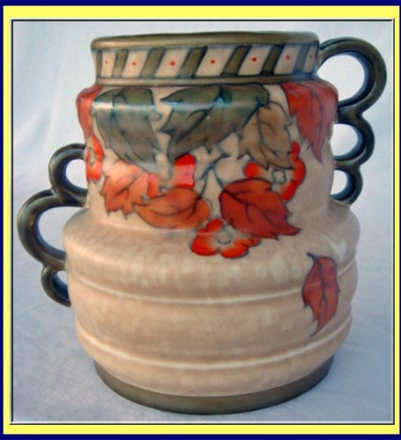 Antique Charlotte Rhead Crown Ducal Pottery For Sale Antiques