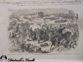 Battle Of Dranesville From Frank Leslie S Illustrated For Sale Antiques Com Classifieds