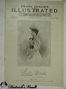 Frank leslie s illustrated weekly cover january 4 1894 black cream