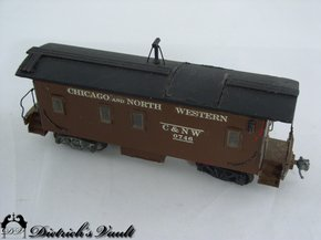 HO Train 0746 Chicago and North Western Caboose For Sale