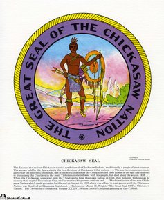 a discussion of chickasaw indian nation Native american scholar david nichols to lecture on chickasaw nation david  nichols, professor of history at indiana state university, will give a talk entitled.