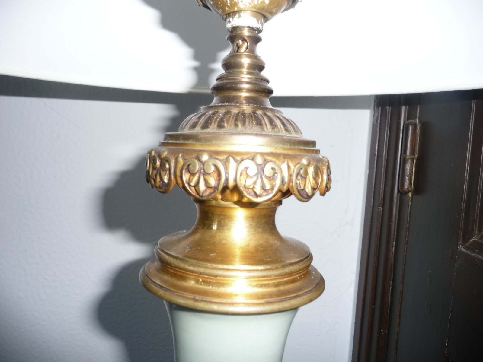 Lampe celadon xix century for sale antiques.com classifieds