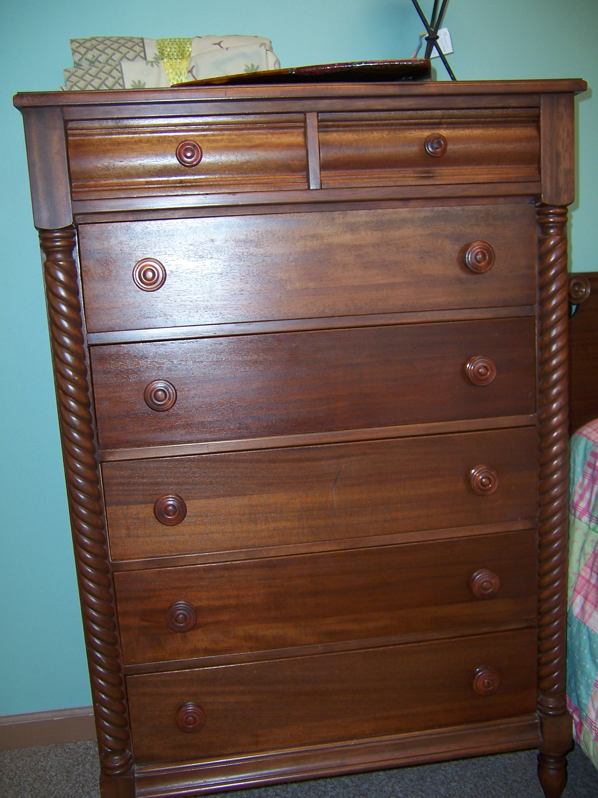 Vanity dresser chest of drawers bed for sale classifieds Antique bedroom dressers and chests