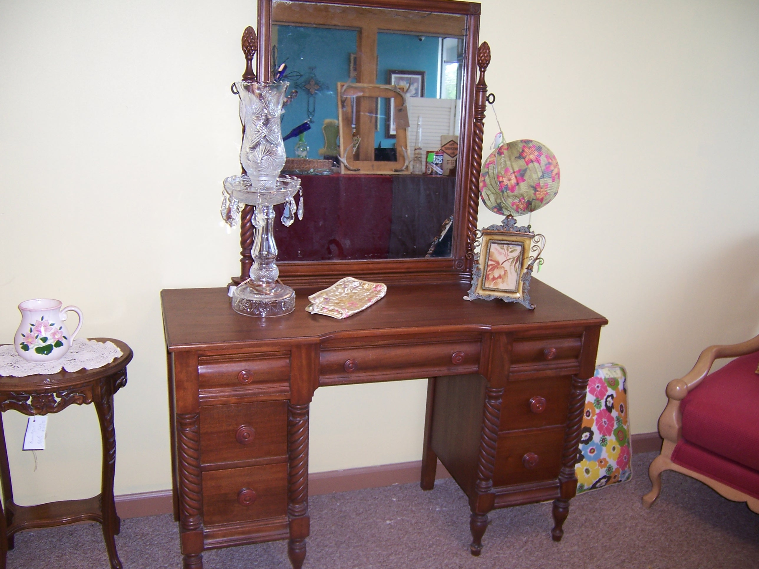 Vanity Dresser, Chest Of Drawers, Bed For Sale