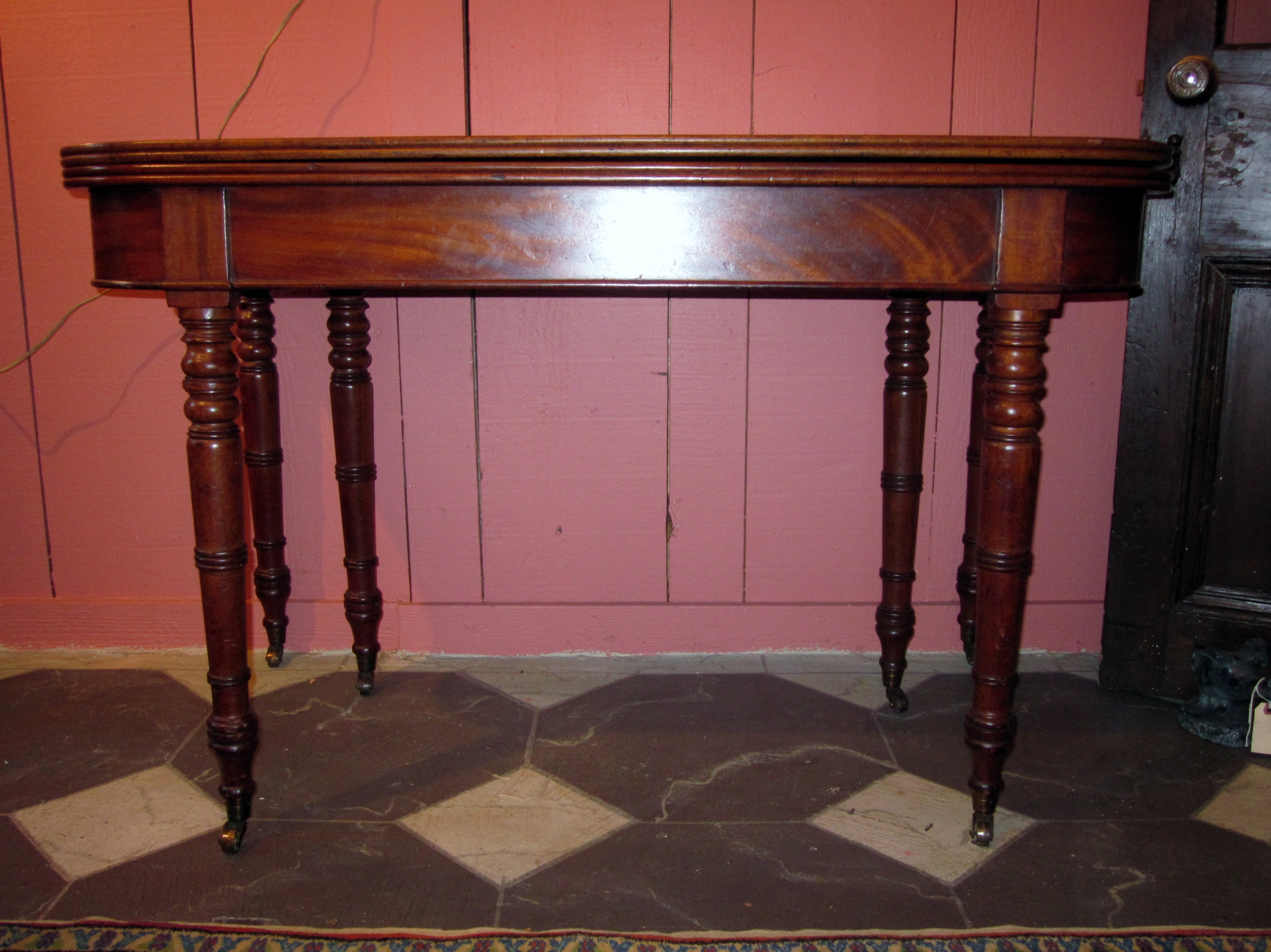 Georgian Accordion Dining Table For Sale Antiques