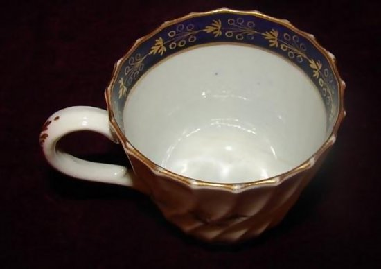 C 1800 worcester fine porcelain coffee tea cup for sale Coffee cups for sale