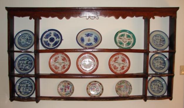C. 1800 ENGLISH OAK HANGING SHELF/PLATE RACK - For Sale & C. 1800 ENGLISH OAK HANGING SHELF/PLATE RACK For Sale | Antiques.com ...