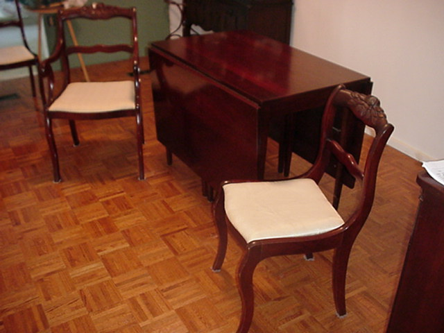 Antique Dining Table and Chairs - For Sale - Antique Dining Table And Chairs For Sale Antiques.com Classifieds