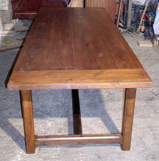 Large Provincial French Oak Farm Table For Sale Antiques