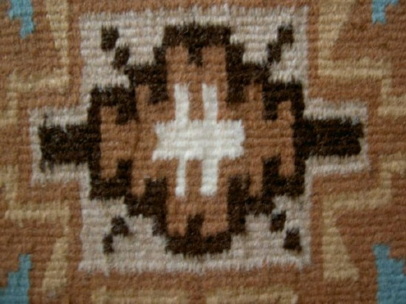 Miniature Navajo Indian Rug Victoria Begay For Sale