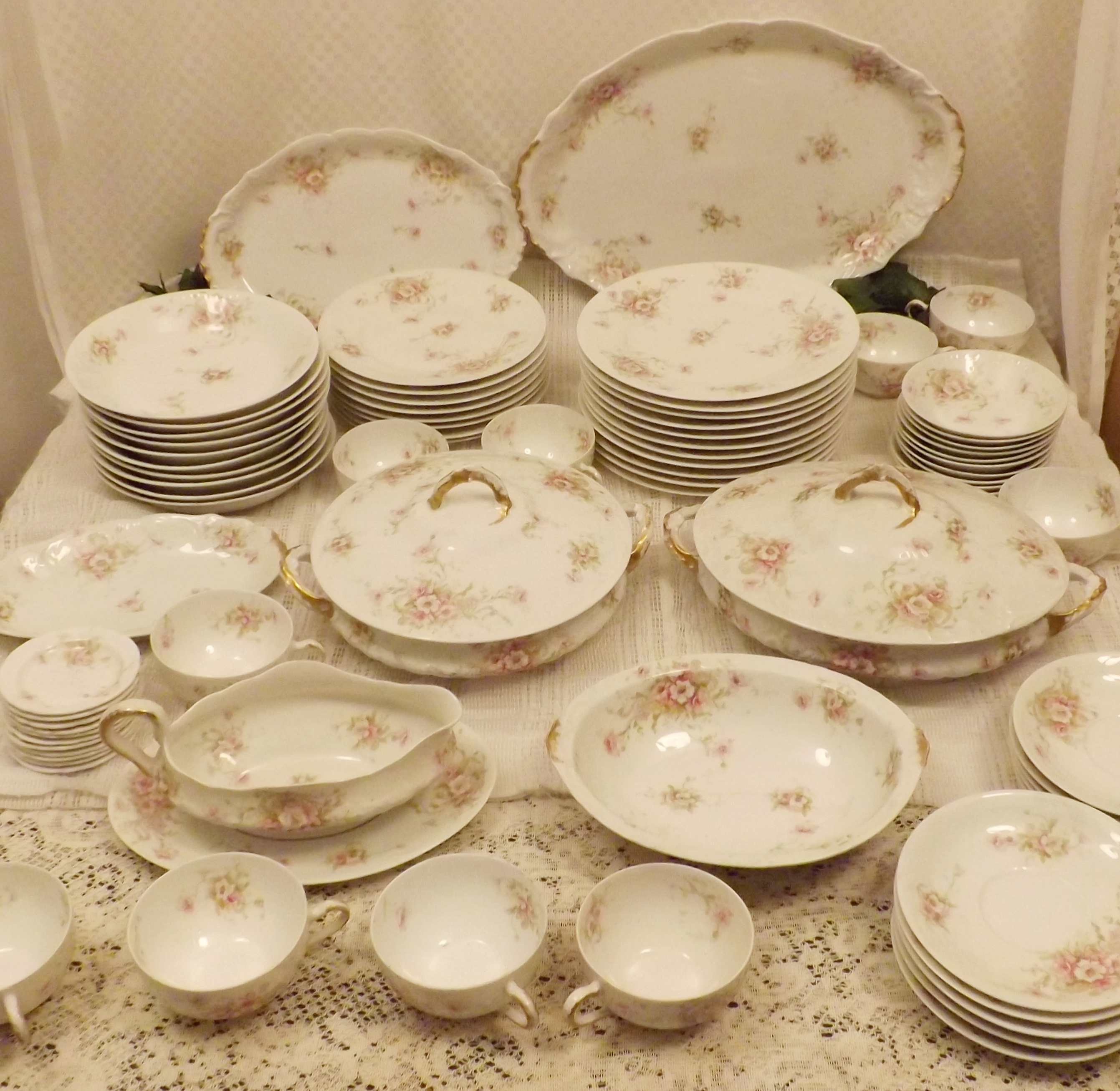 Antique 1903 Theodore Haviland Limoges France Dinnerware China ...