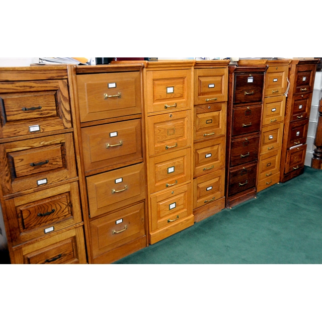 Fantastic four drawer oak filing cabinet for sale for Kitchen drawers for sale
