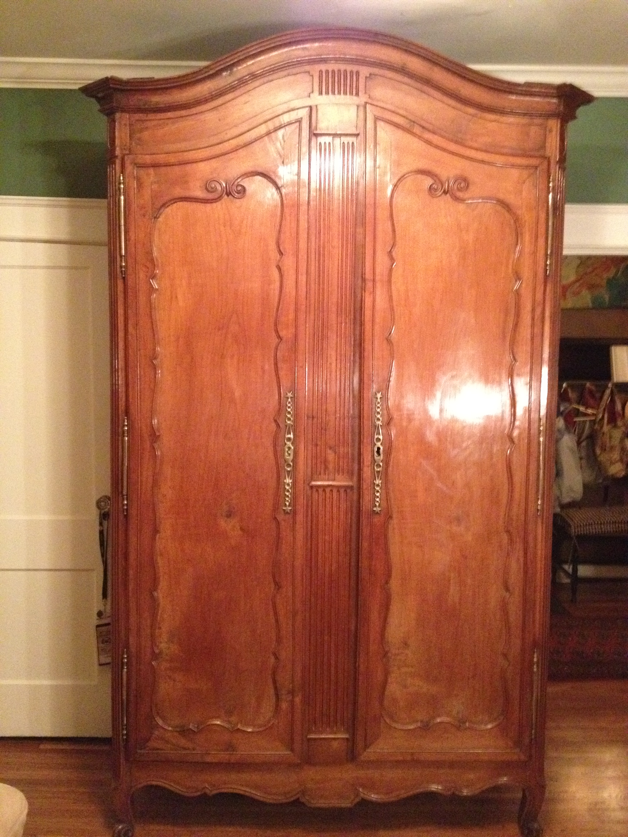 18th Century French Cherry Armoire For Sale Antiques Com