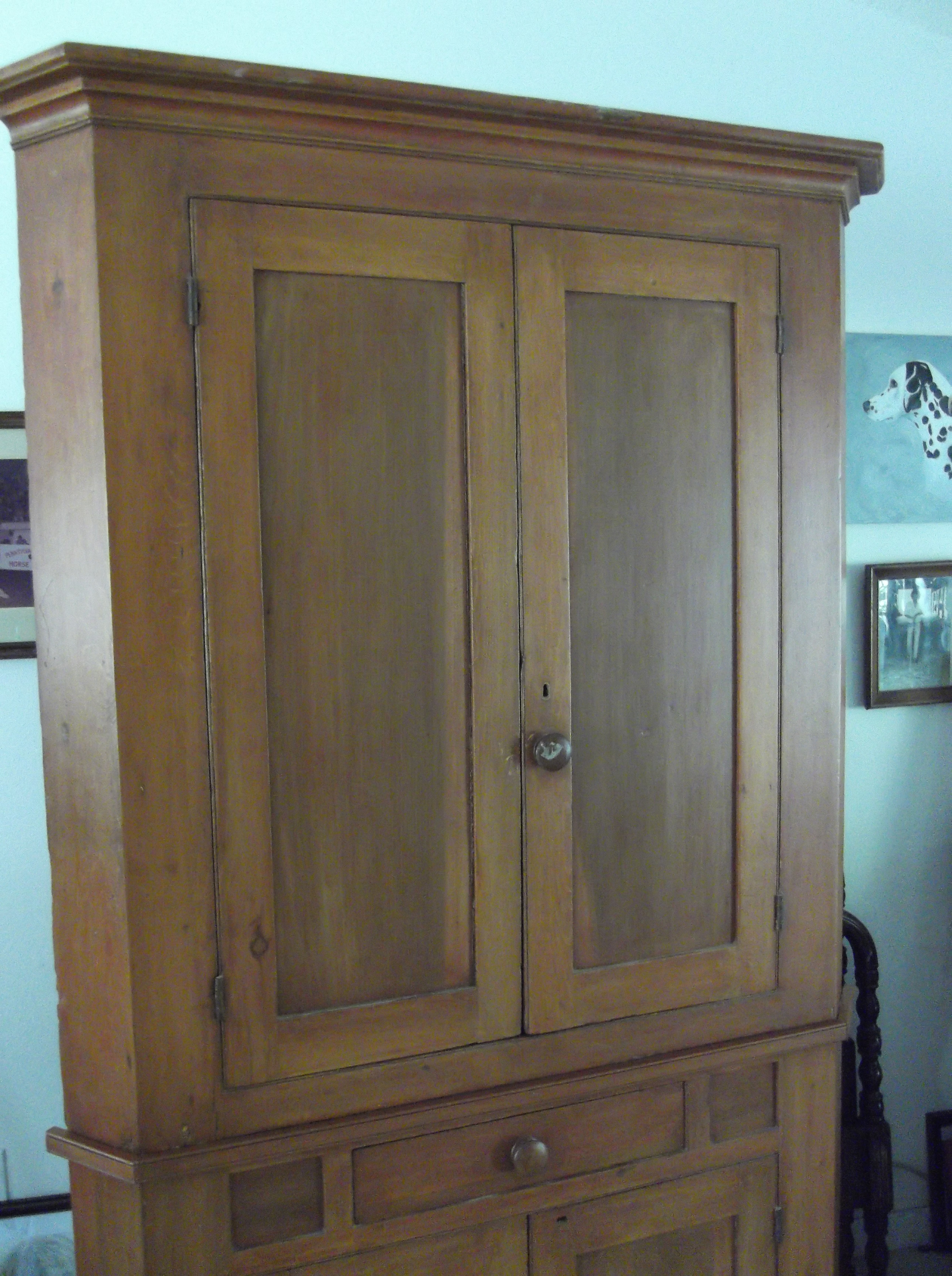 Early America Corner Cupboard C1840 For Sale Antiques