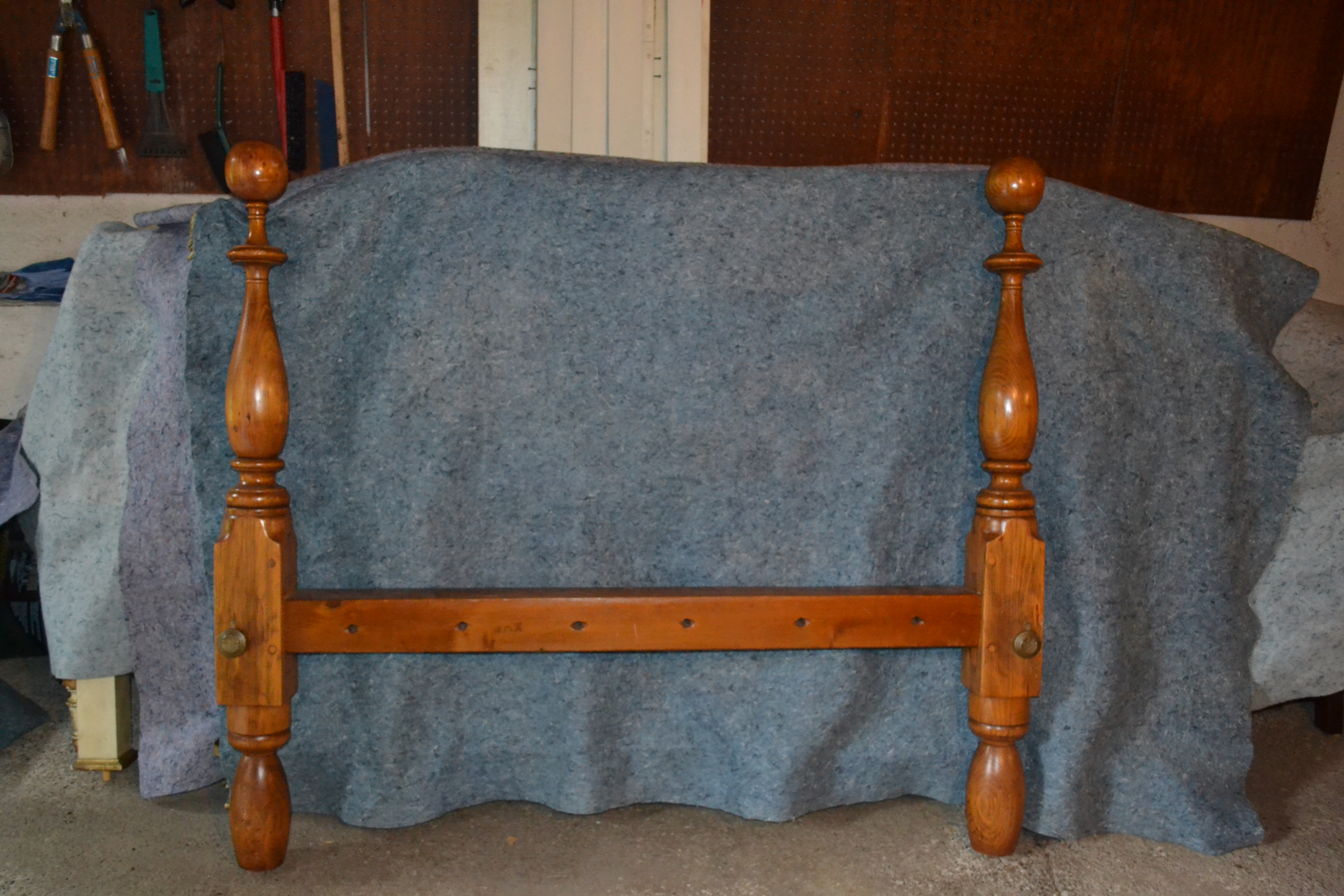 Antique Cannonball Bed Ca Early