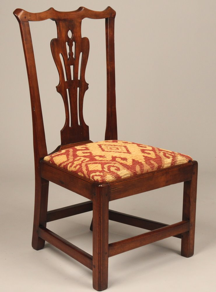 fine 18th century american chippendale side chair